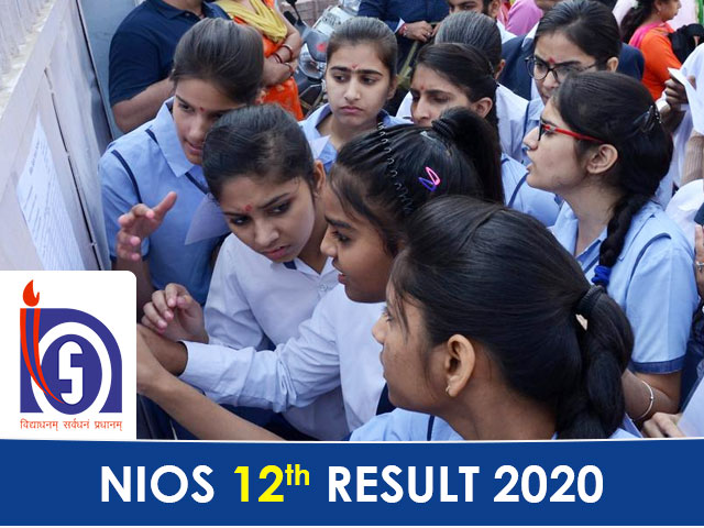 NIOS Board 12th Result 2020