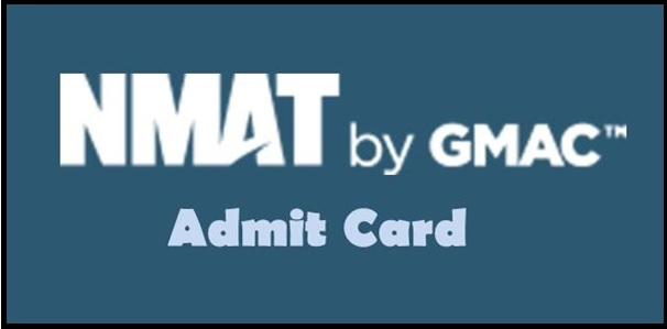 NMAT MBA Admit Card