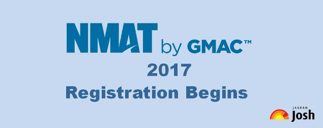 Registrations for NMAT by GMAC 2017
