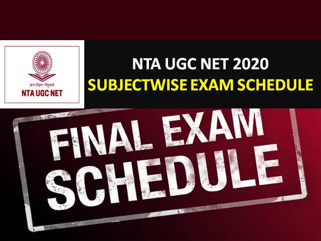 NTA UGC NET 2020 Revised Exam Schedule (Changed Date Sheet): UGC NET 2020 Exam has been scheduled from 24th Sep to 13th Nov 2020 for 81 Subjects