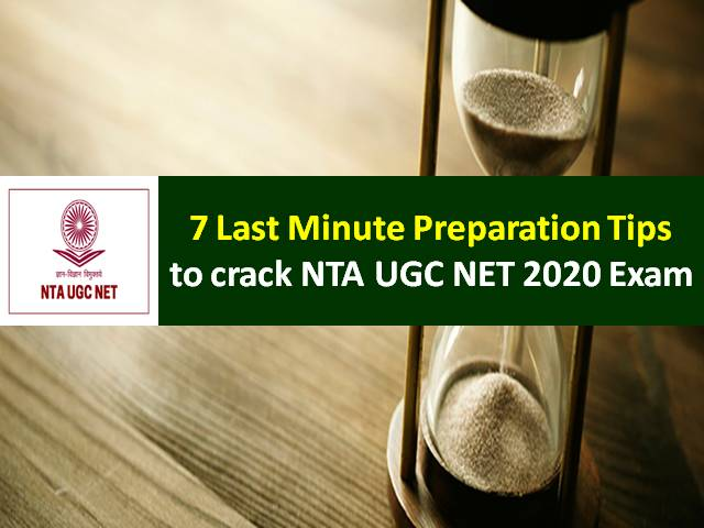 NTA UGC NET 2020 Exam Begins from 24th Sep: Check 7 Last Minute Preparation Tips to score high marks in UGC NET Paper-1&2