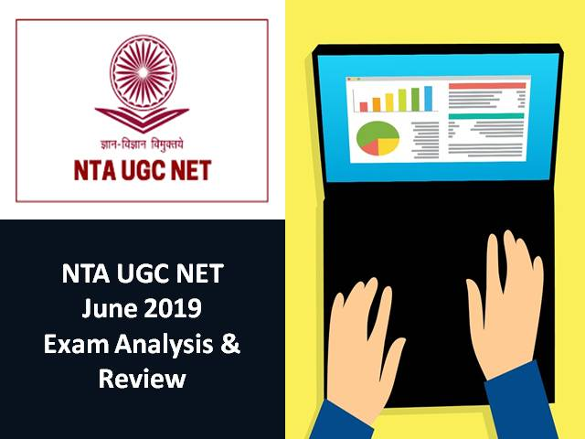 NTA UGC NET June 2019 Exam Analysis & Review