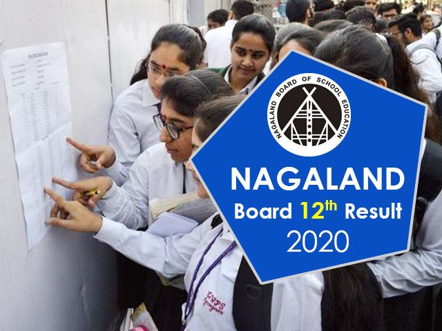 Nagaland Board 12th Result 2020