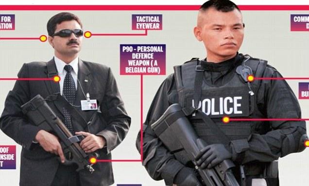 Narendra Modi security guards