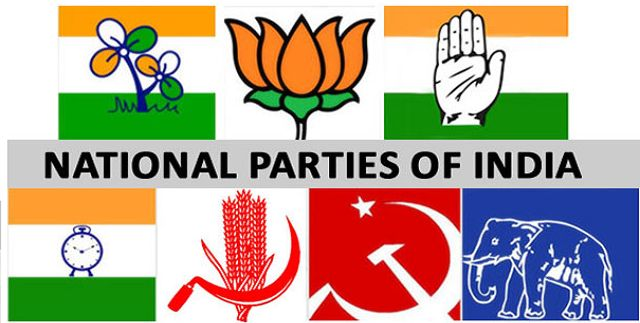 List of All the Political Parties in India
