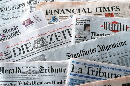 News Paper Editor