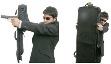 Briefcase of SPG is a nuclear protective shield