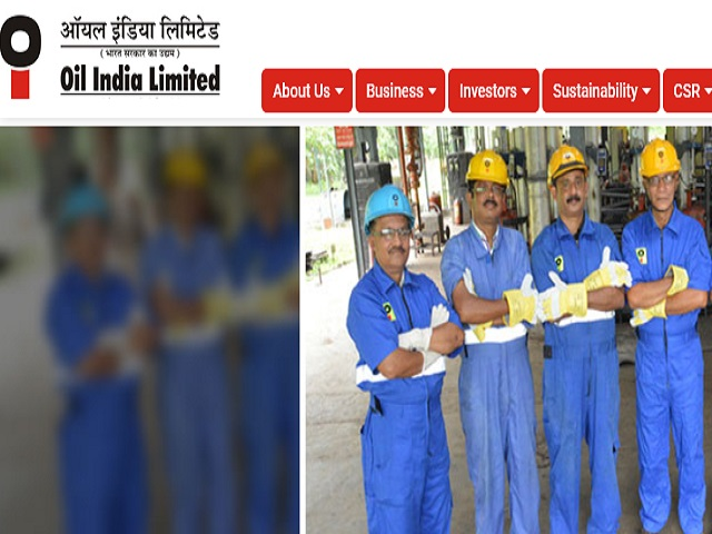 Oil India Recruitment 2020
