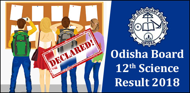 CHSE +2 Science Result 2018 Live Now At Odisha Board's