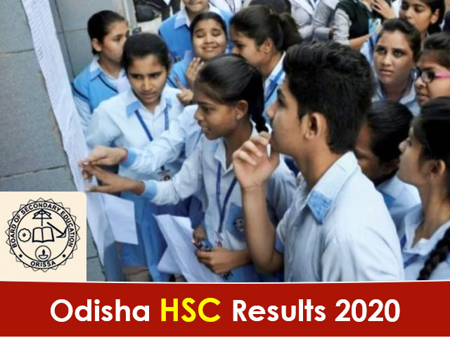 Odisha Board HSC (10th) Result 2020