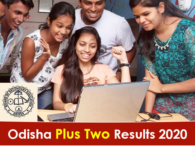 Odisha Board Plus Two (+2) Result 2020