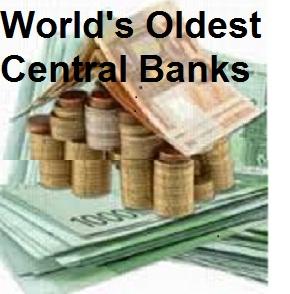 Oldest Central Banks