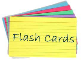Online Flashcards