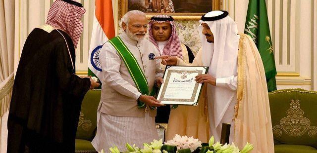 Order of Abdulaziz Al Saud modi