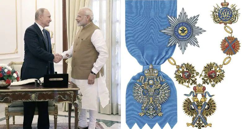 Order of St Andrew award modi
