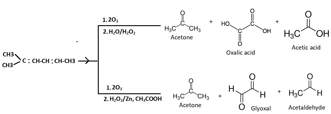 ozonolysis product