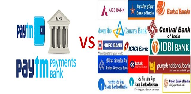 what is the difference between payments banks and commercial banks