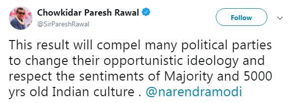 Prakash Raj Tweet