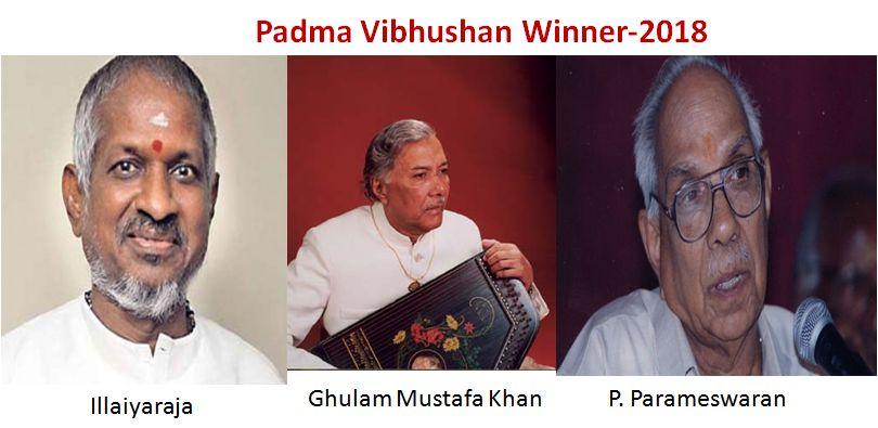 Padma vibhushan winner-2018