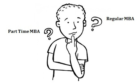 What is the difference in doing part time MBA or full time MBA?