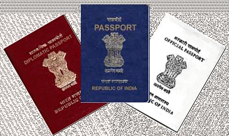 Passport colour in India