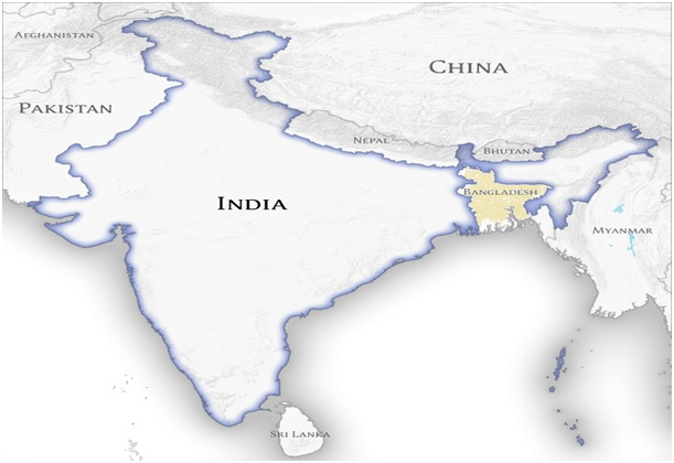 List of India's neighbouring countries with Map India Map With Desh on map east africa, game with india, map singapore, map saudi arabia, map of india landforms, map the us, map sri lanka, globe with india, map south korea, map of india map, map west asia, plain map of india, map south africa, map nigeria, map spain, printable map of india, map japan, map southeast asia, map russia, business with india,