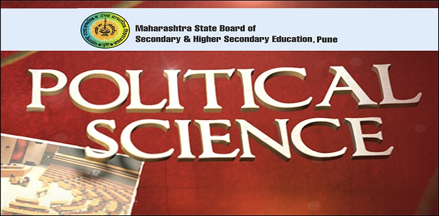 Maharashtra State Board HSC Political Science Syllabus
