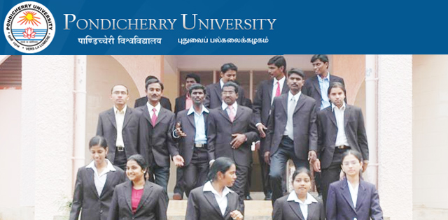 Pondicherry University Recruitment 2018