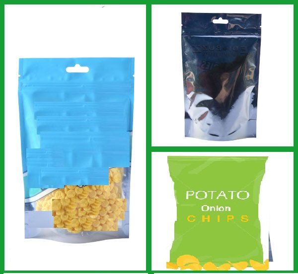 Potato chips Plastic packaging