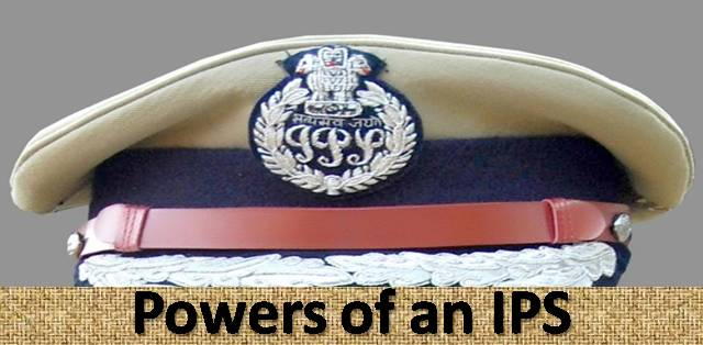Powers of an IPS