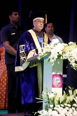 Pranab Mukherjee at SOA