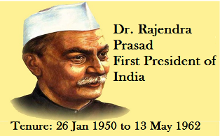 Image result for who is the first president of india