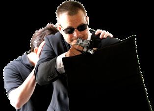 Prime Minister bodyguard protecting PM