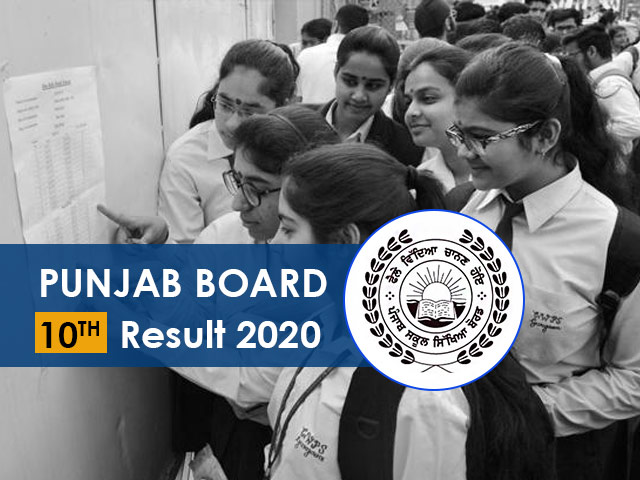 Punjab Board 10th Result 2020