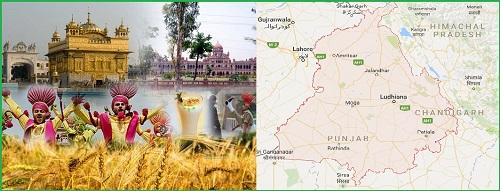 Punjab-lanf of river