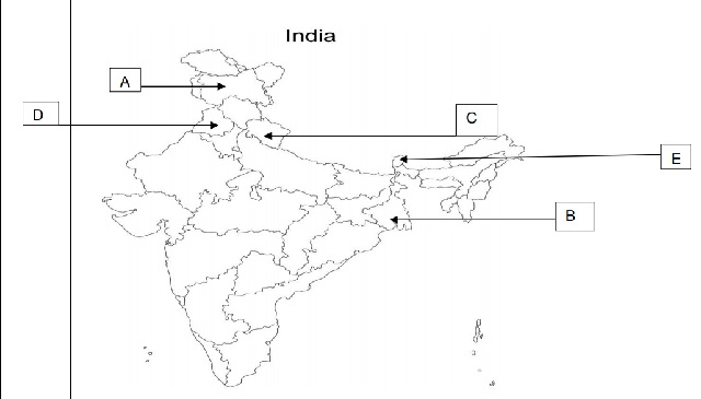 Political Science Map Question 6