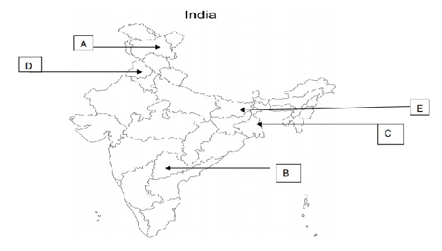 Political Science Map Question 7