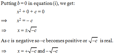 Quadratic Equations NCERT Exemplar