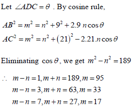 JEE Main Mathematics Question 7