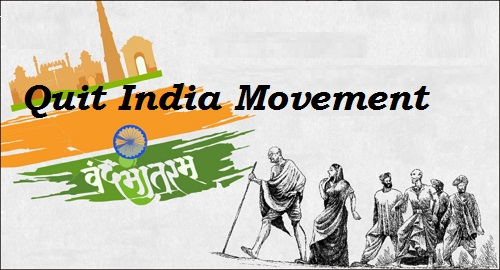 GK Questions and Answers on the Quit India Movement during British India