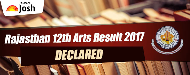 RBSE 12th Class Arts Result 2017 Announced, Live Now on www.rajresults.nic.in and rajeduboard.nic.in