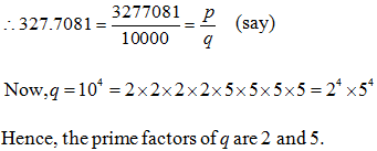 Class 10 NCERT Exemplar, Real Numbers NCERT Exemplar, Real Numbers Short Answer Type Questions