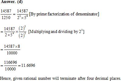 Class 10 Maths NCERT Exemplar, Real Numbers NCERT Exemplar Problems