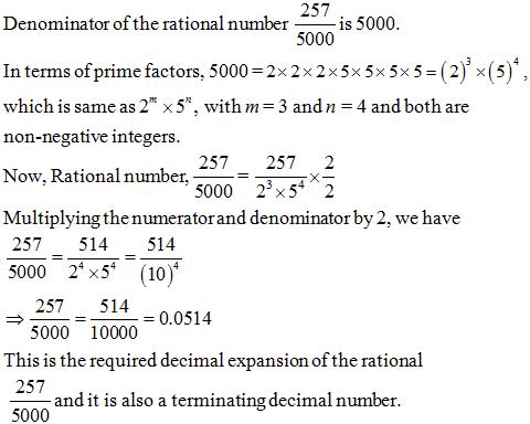 Class 10 Maths NCERT Exemplar, Real Numbers NCERT Exemplar Problems, NCERT Exemplar Problems,
