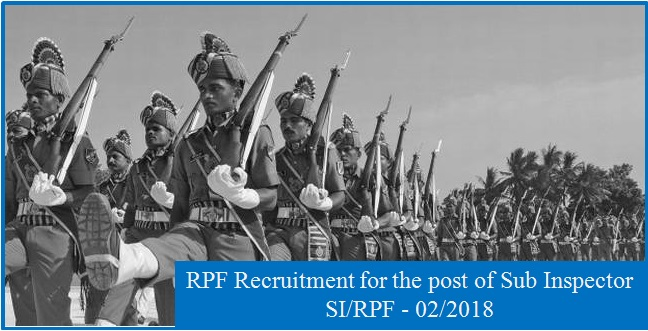 RPF SI Syllabus 2018, Exam Pattern & Complete Details about