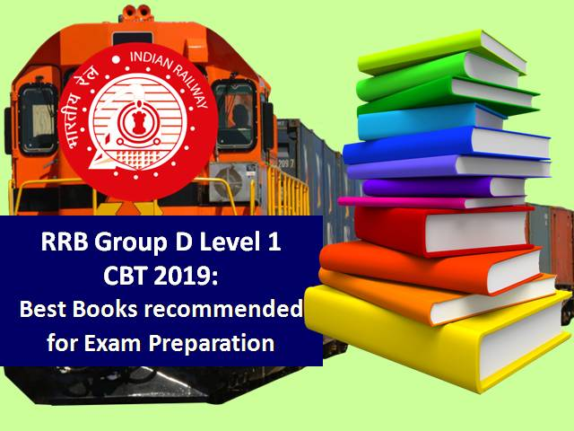 RRB Group D Level 1 2019: Best Books recommended for CBT Exam