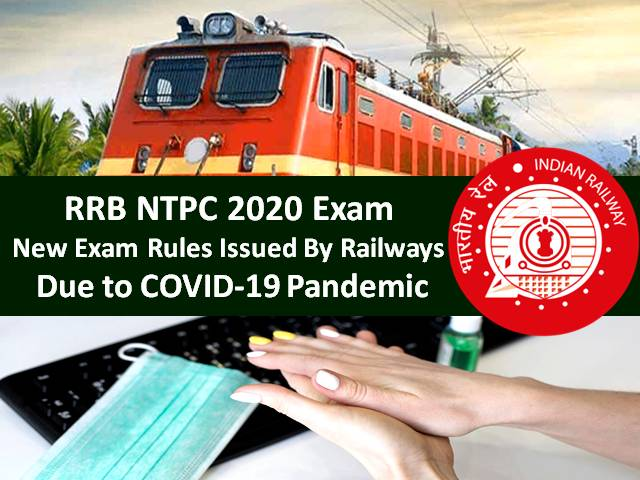 RRB NTPC 2020 Exam to be held Amid COVID-19 Pandemic: Ministry of Railways Issued New Rules for Conducting RRB NTPC Exam including Social Distancing, Wearing Mask & Sanitization