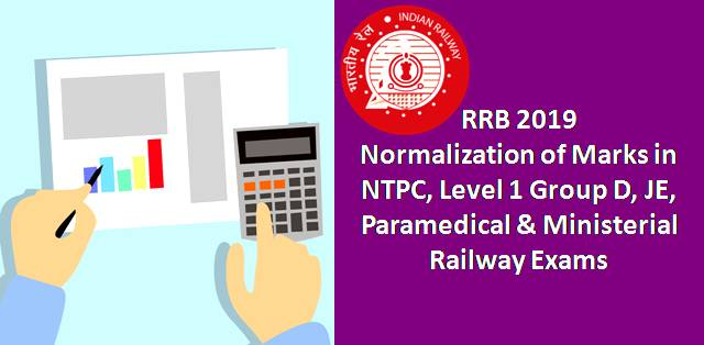 RRB Calculator for Normalization of Marks in NTPC