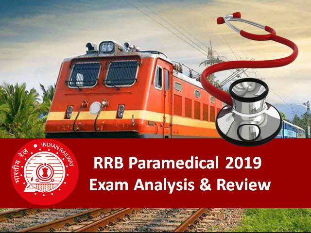 RRB Paramedical 2019 Exam Analysis & Review