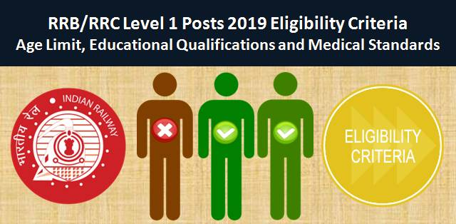 RRB Group D Level 1 2019 Eligibility Criteria: Age Limit